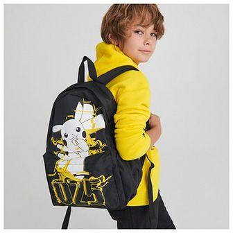 Reserved - Plecak z nadrukiem Pokémon - Czarny
