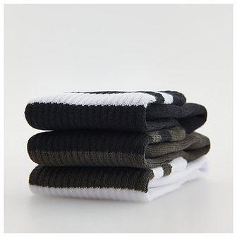 Reserved - Skarpety 3 pack - Biały