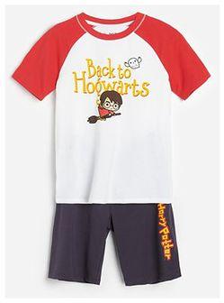 Reserved - Dwuczęściowa piżama Harry Potter - Szary