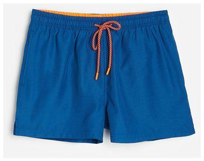 Reserved - Szorty kąpielowe z recyklingowanej tkaniny - Niebieski