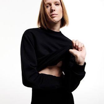 Reserved - PREMIUM Bluza z bawełny organicznej - Czarny