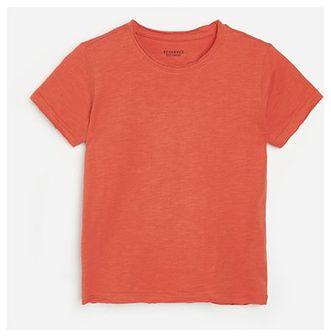 Reserved - Bawełniany t-shirt - Czerwony