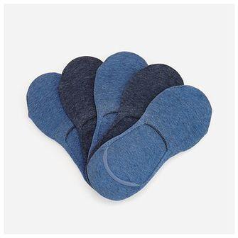 Reserved - Bawełniane skarpetki 5 pack - Niebieski