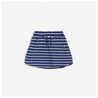Reserved - Spódnica w paski - Niebieski