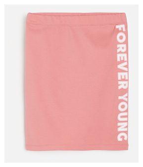 Reserved - Spódnica z nadrukiem - Różowy