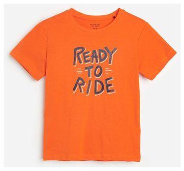 Reserved - T-shirt z nadrukiem - Czerwony