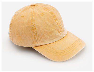 Reserved - Czapka z daszkiem - Żółty
