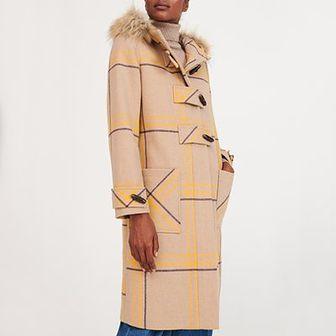 Reserved - Płaszcz z wełną - Wielobarwny