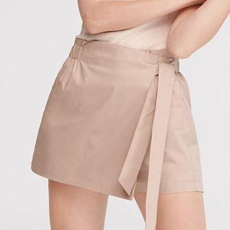 Reserved - Spódnica z szortami - Beżowy