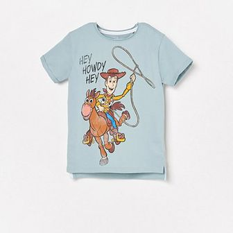 Reserved - T-shirt Toy Story - Niebieski