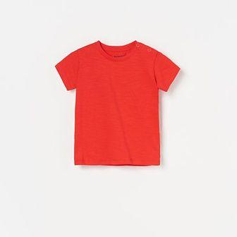 Reserved - T-shirt basic - Czerwony