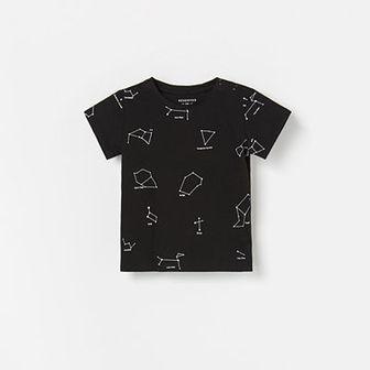 Reserved - T-shirt z nadrukiem - Czarny