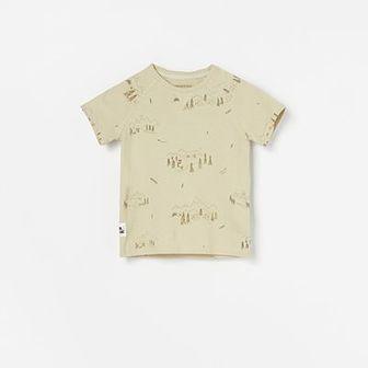 Reserved - T-shirt z nadrukiem - Zielony