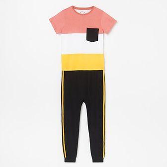 Reserved - Pizama ze spodniami - Pomarańczowy