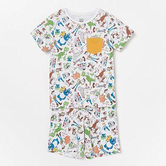 Reserved - Piżama Toy Story - Jasny szary