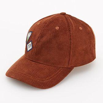 Reserved - Sztruksowa czapka z daszkiem - Brązowy