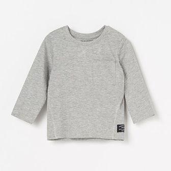Reserved - Koszulka z kieszonką - Jasny szary