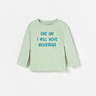 Reserved - Koszulka z nadrukiem - Zielony