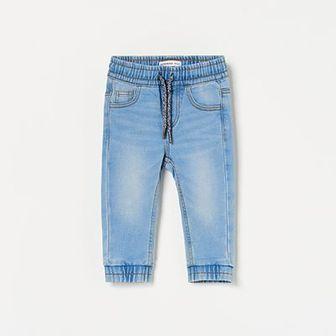 Reserved - Jeansowe spodnie jogger - Niebieski