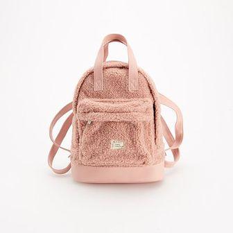 Reserved - Plecak z baranka - Beżowy