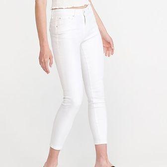 Reserved - Jeansy slim push up - Biały
