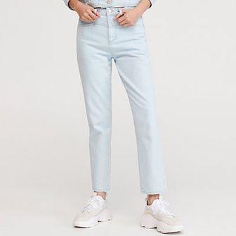 Reserved - Jeansy z prostymi nogawkami - Niebieski