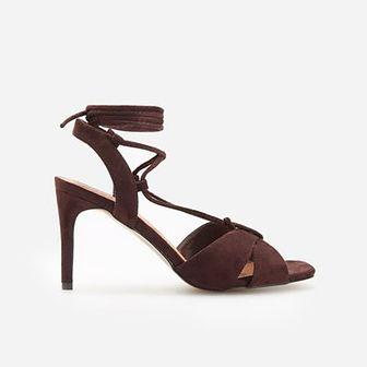 Reserved - Sandały na obcasie - Brązowy