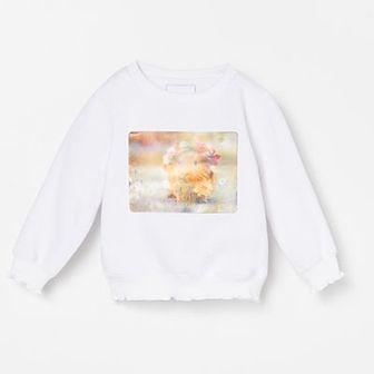 Reserved - Bluza z aplikacja - Biały