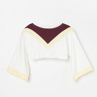 Reserved - Krótka bluza Be Active - Biały
