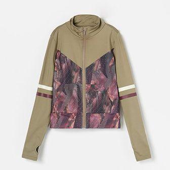 Reserved - Bluza ze stójką - Khaki