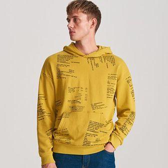Reserved - Bluza z kapturem - Zielony