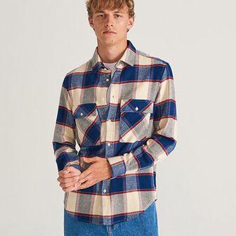 Reserved - Koszula w kratę - Wielobarwny