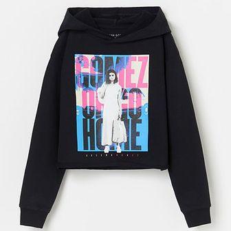 Reserved - Bluza z kapturem Selena Gomez - Czarny