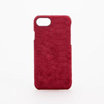 Reserved - Etui na telefon iPhone 6, 7, 8, X - Różowy