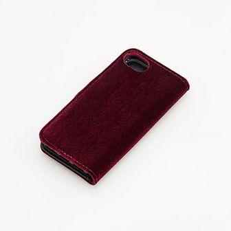 Reserved - Etui na telefon iPhone 6, 7, 8, X - Bordowy