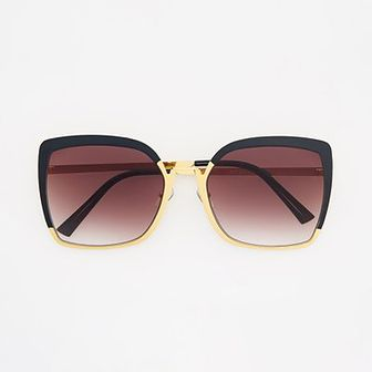 Reserved - Okulary przeciwsloneczne - Brązowy