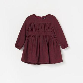 Reserved - Sukienka z długim rękawem - Fioletowy