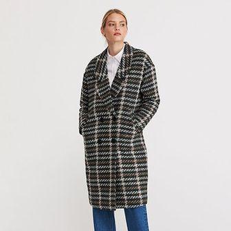Reserved - Wzorzysty płaszcz - Wielobarwny