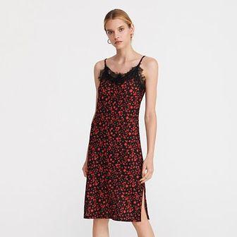 Reserved - Bielizniana sukienka - Czerwony