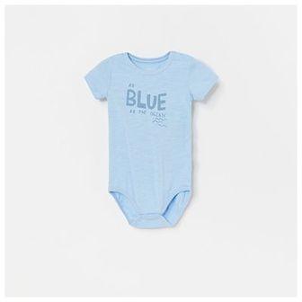 Reserved - Body z bawełny organicznej - Niebieski