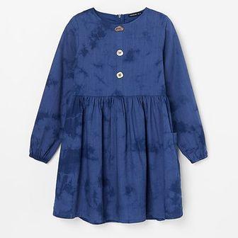 Reserved - Rozkloszowana sukienka z kieszeniami -