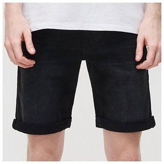 Reserved - Jeansowe szorty - Czarny