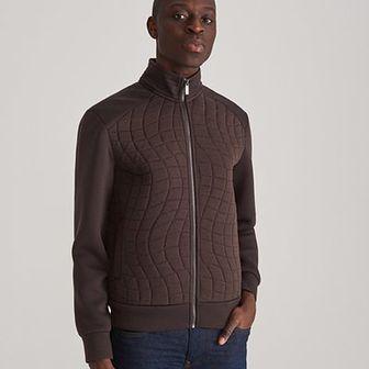 Reserved - Rozpinana bluza ze stójką - Brązowy