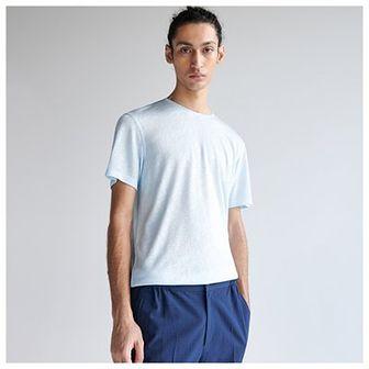 Reserved - Gładki T-shirt - Niebieski