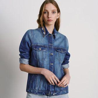 Reserved - Kurtka jeansowa - Niebieski