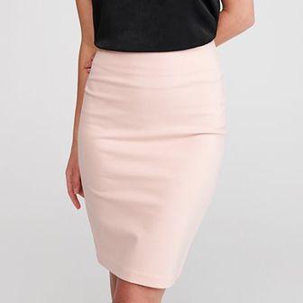 Reserved - Ołówkowa spódnica - Różowy