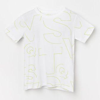 Reserved - Bawełniany t-shirt z nadrukiem -
