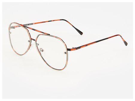 Reserved - Okulary zerówki - Biały