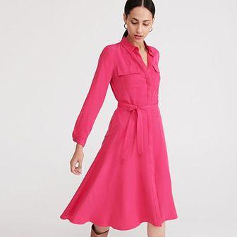 Reserved - Sukienka z Tencelu™ - Różowy