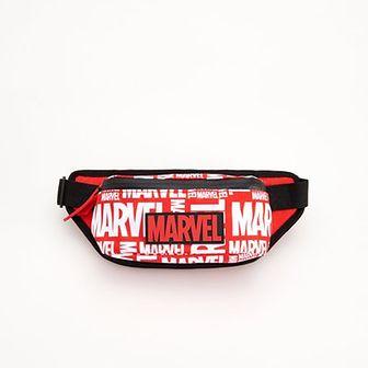 Reserved - Saszetka z nadrukiem Marvel - Czerwony
